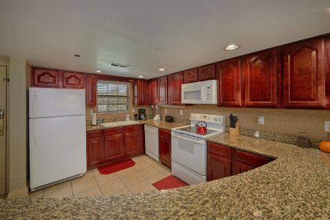 Full Kitchen in Gatlinburg Condo - Gatehouse 505