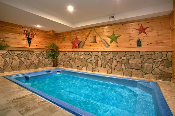 Luxury Log Cabin With Indoor Pool Gatlinburg Splash