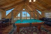 Gatlinburg Cabin with Pool Table and Game Room