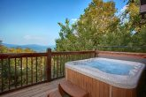 Views of the Smoky Mountains from Cabin Deck