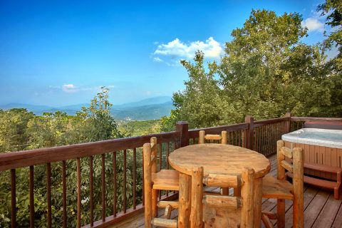 3 Bedroom Cabin with Private, Heated Pool - Gatlinburg Splash