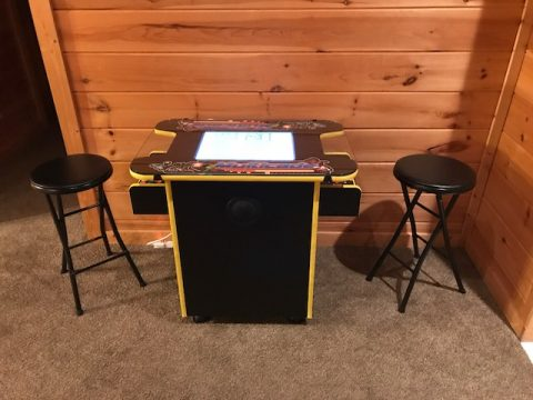 Arcade Game 3 Bedroom Cabin Gatlinburg - Gatlinburg Views