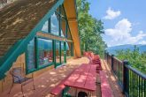 Cabin overlooking Ober Ski Resort in Gatlinburg