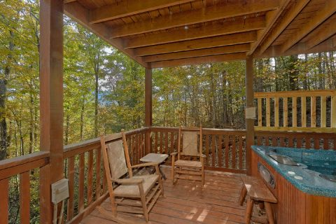 Lots of Deck Seating - Gray Fox Den