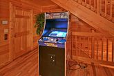 Cabin with multi game arcade