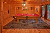 Cabin with pool table and resort pool