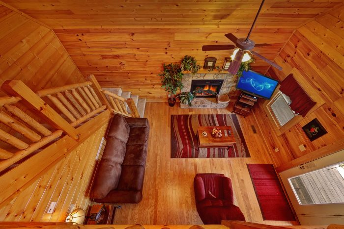 Cabin with Upstairs - Great Escape