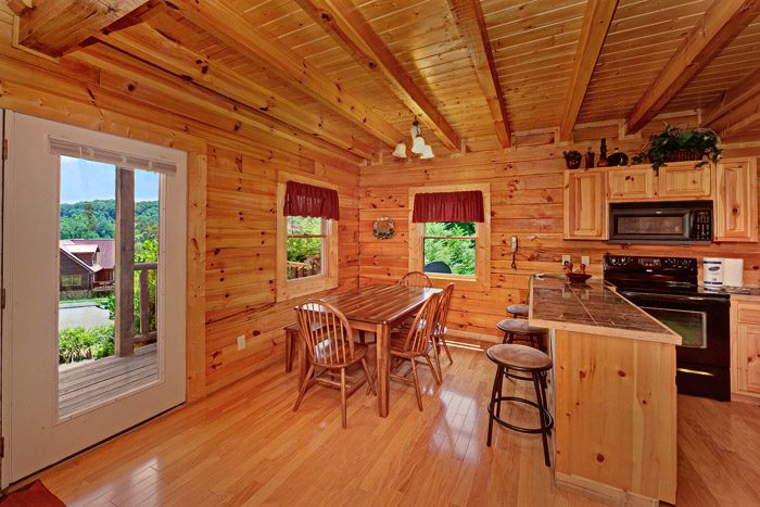 Cabin with Dining Table & Bar Seating - Great Escape