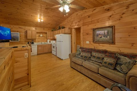 2 Bedroom Cabin with an Open Living Room - Grin N Bear It