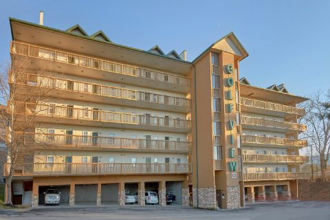 Golf View condos in Pigeon Forge Tennessee - Hailey's Comet