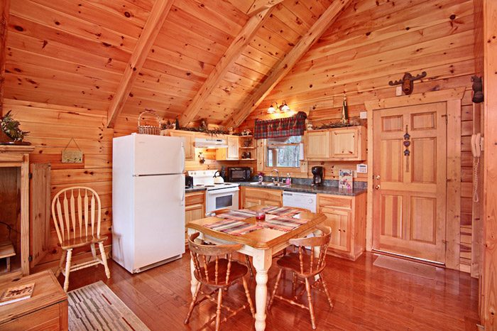 Honey Moon Cabin in Gatlinburg with Kitchen - Hanky Panky