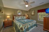 King Bedroom Furnished with Flat Screen TV