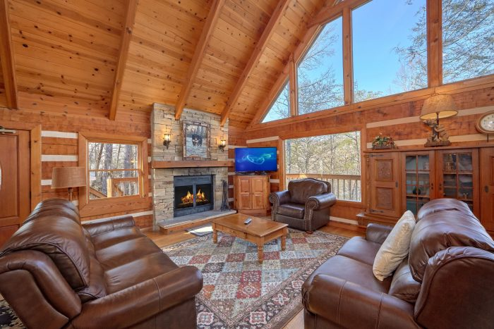 Rustic 5 Bedroom Cabin Near downtown Gatlinburg - Hearts Desire