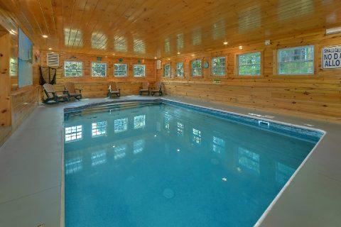 12 Bedroom with Indoor Pool Sleeps 54 - Heavenly Retreat Lodge