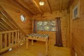 Coved Porch with Rocking Chairs 2 Bedroom Cabin