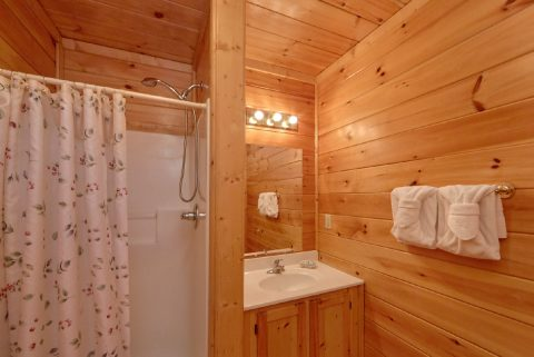 Bathroom with Walk-in Shower - Heaven's Gift