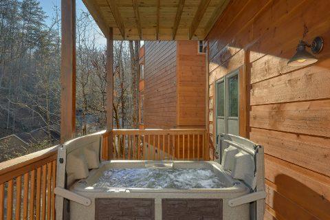 2 bedroom cabin with hot tub and indoor pool - Hemlock Splash