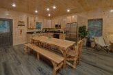 Large Open Kitchen 5 Bedroom Cabin