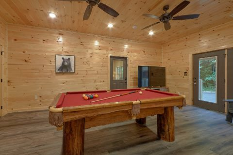 Large Game Room with Pool Table and Arcades - Hibernation Station