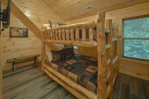 5 Bedroom Cabin with Bunk bed Rooms - Hibernation Station