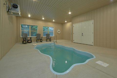 5 Bedroom 4.5 Bath Indoor Pool Cabin - Hibernation Station
