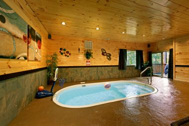 Private Indoor Swimming Pool Cabins In Gatlinburg Tn