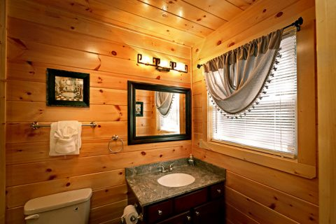 Cabin with Private Master Bath - Hickory Splash