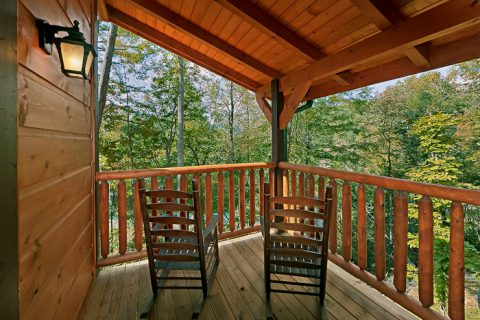 Cabin with Wooded View - Hickory Splash