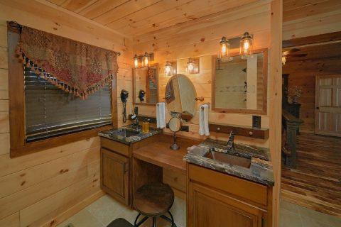 Main Floor Master Bedroom and Master Bath - Hideaway Dreams