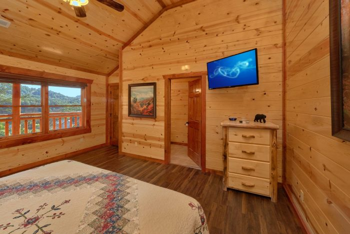 6 Bedroom Cabin in the Great Smoky Mountains - High Dive