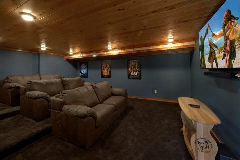 6 Bedroom Cabin with a Theater Room - High Dive