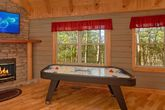 1 Bedroom Cabin with an Air Hockey Table