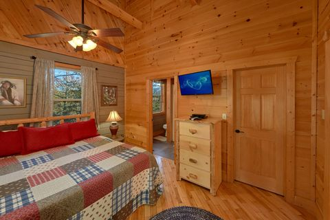 Smoky Mountain Cabin Sleeps 6 - Higher Ground