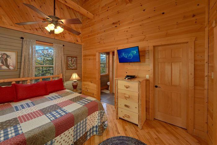 Smoky Mountain Cabin Sleeps 6 - Higher Ground