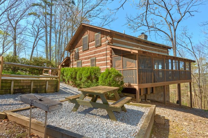 Hillbilly Deluxe Cabin Rental Photo