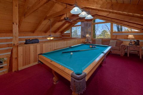 2 bedroom cabin with Pool Table and sleeper sofa - Hillbilly Deluxe
