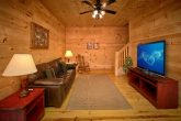Smoky Mountain Cabin Rental with Family Room