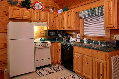 Pigeon Forge Honeymoon Cabin Sleeps 2 - Honeymoon Getaway