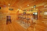 Pigeon Forge Cabin with Additional Bar Seating