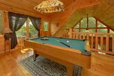 1 Bedroom cabin with Pool Table and Wooded View