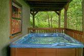 Private Hot Tub 3 Bedroom Cabin Sleeps 8