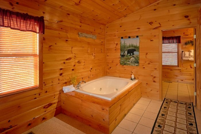 Honeymoon Cabin with Private Jacuzzi Tub - I Don't Want 2 Leave