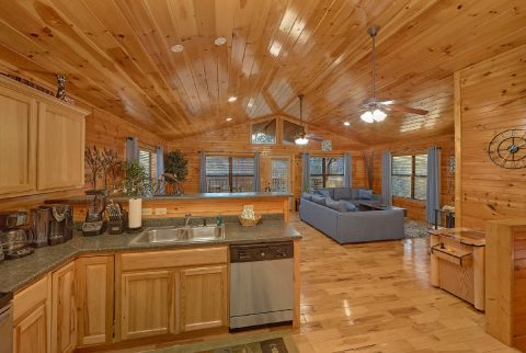 Gatlinburg Cabin with Kitchen and sleeper sofa - I Love View