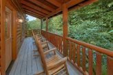 Larger Covered Decks with Rocking Chairs