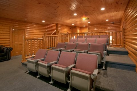8 Bedroom Cabin with Pool and Theater Room - Indoor Pool Lodge