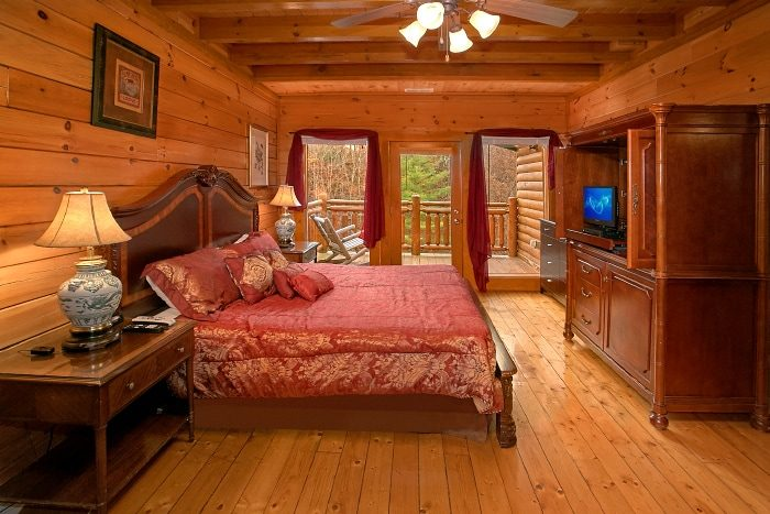 Luxury Group Cabin In The Smoky Mountains Indoor Pool Lodge