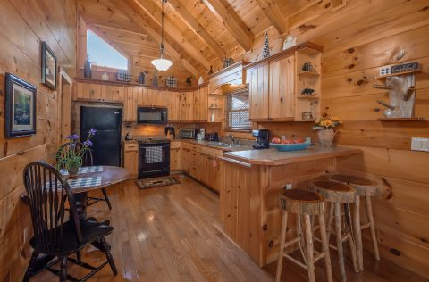 1 Bedroom cabin with Fully Stocked Kitchen - It's A Waterful Life