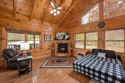 Luxury cabin with a queen Murphy bed - It's A Waterful Life