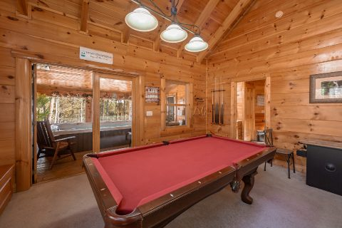 Premium 1 bedroom cabin with Pool Table - It's A Waterful Life
