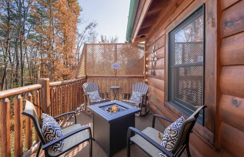 1 bedroom cabin with private Fire Pit - It's A Waterful Life